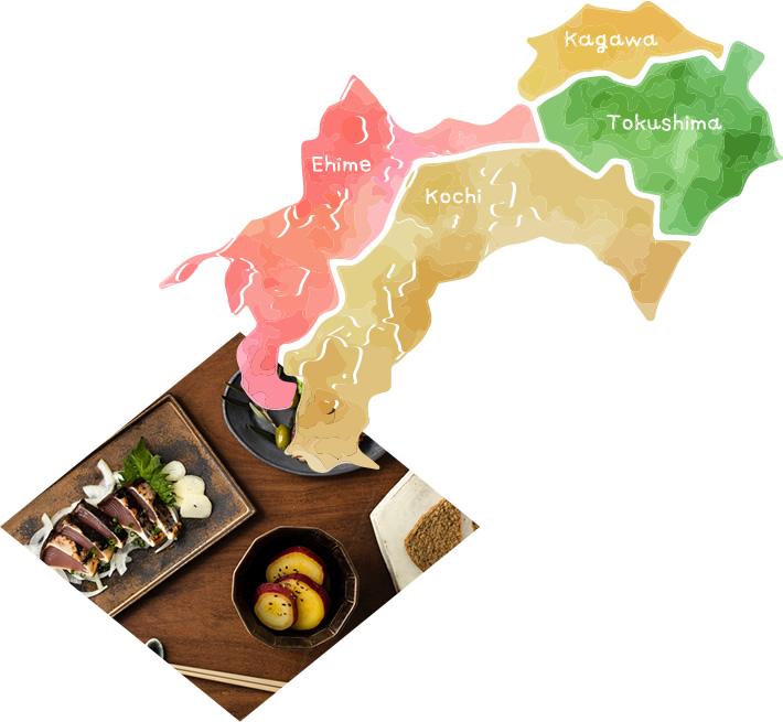 四国4県、50蔵の「地酒めぐり」をご家庭で!